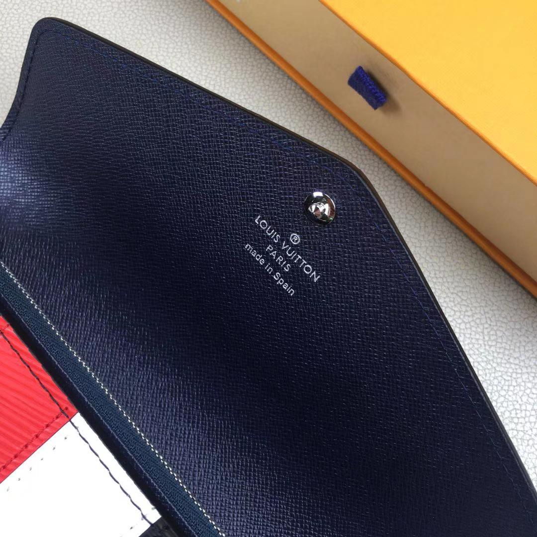 LV路易威登 新款 M62985 黑色 SARAH 钱夹 Epi皮革面料 内部设计精巧独特 19x10cm