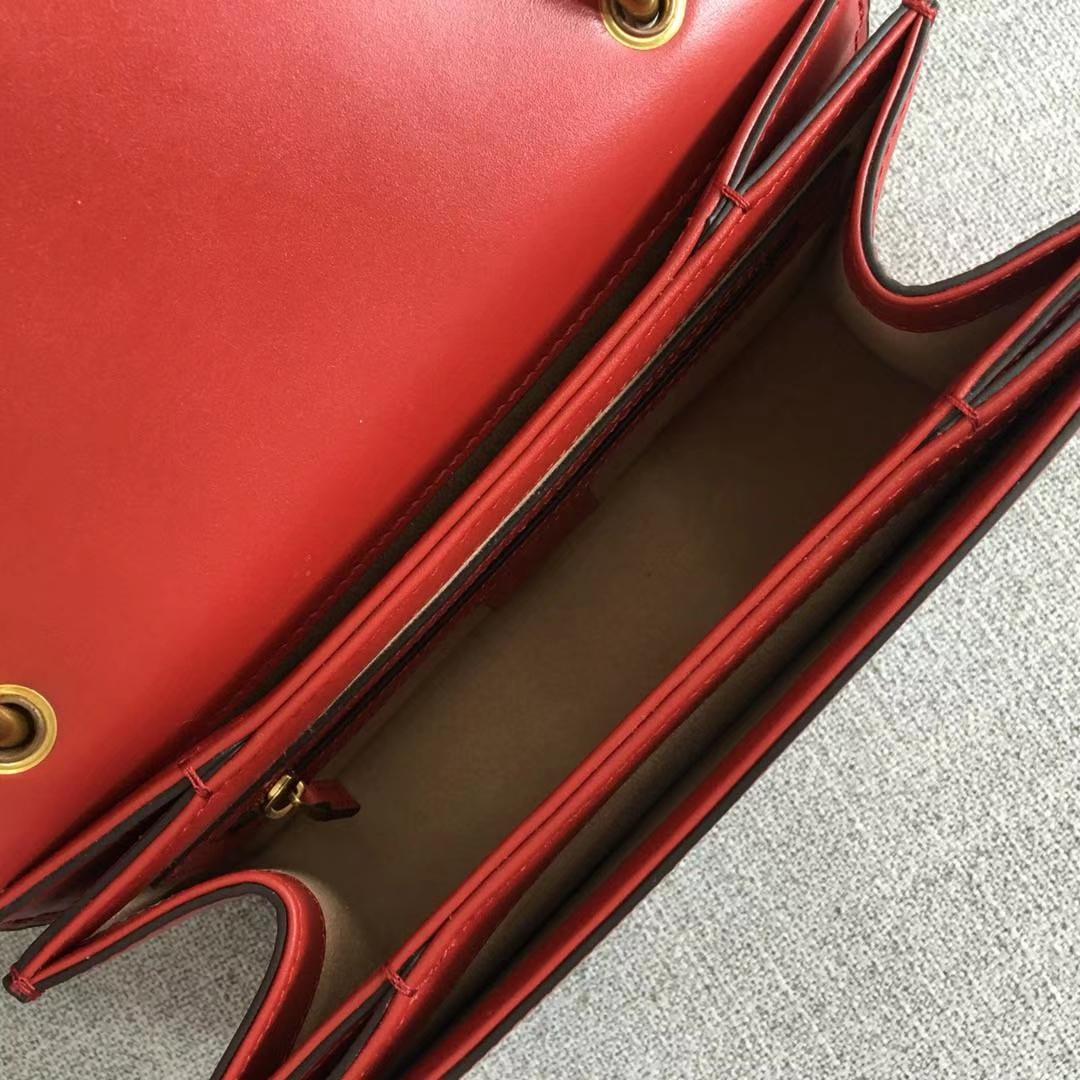 Gucci 玛格丽特皇后【Queen Margaret】476541 红白蓝 原单皮质 以大蜜蜂做点缀 华丽又高雅 25.5x17x13cm