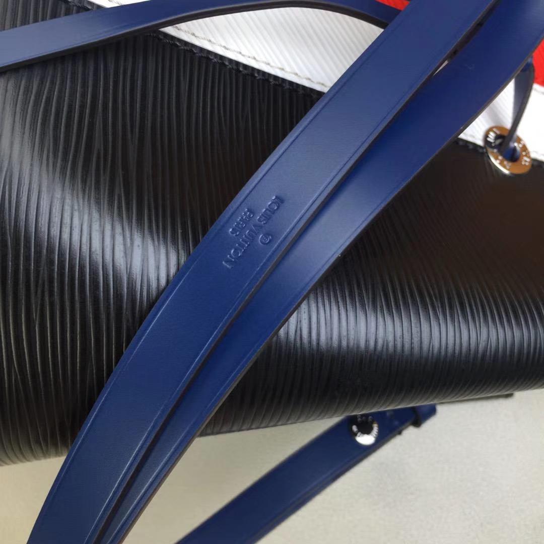 LV路易威登 NEONOE 手袋.M52161黑Noé系列 由标志性Epi皮革搭配彩色内衬制作而成 26x26x17.5cm