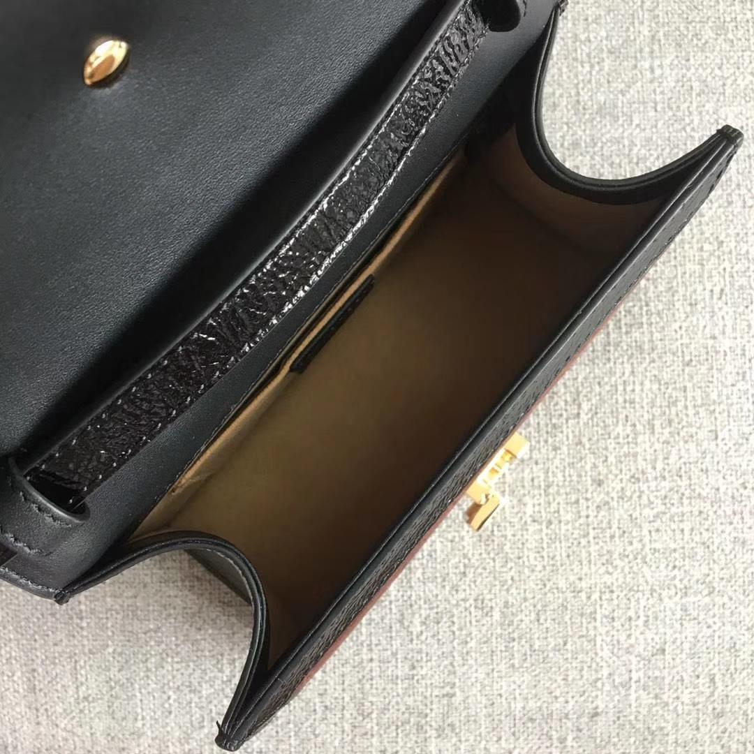 GUCCI(古驰)全新 Sylvie 丝绒手袋系列 470270 天鹅绒 啡色 爆款 尽显优雅复古风 进口原单系列 20×8×14