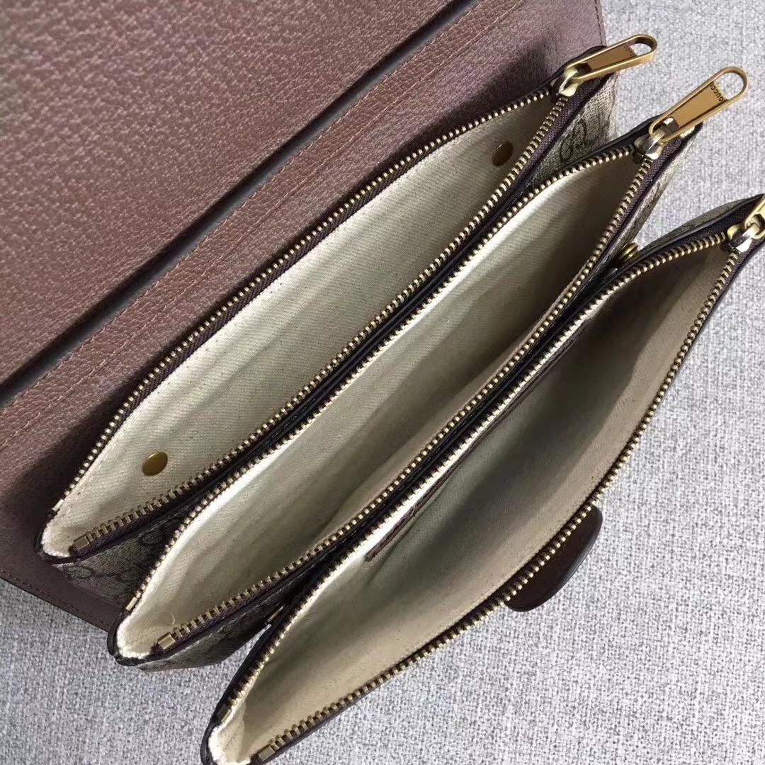 GUCCI(古驰)1955 经典 马鞍包 602204 时尚复古 25.5x18x6cm