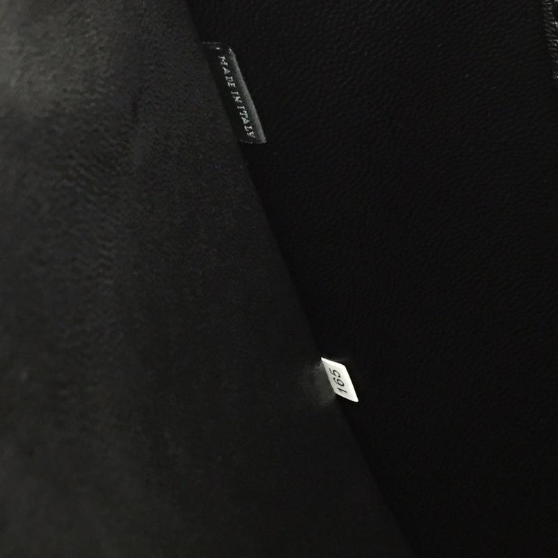 P家2NG003拼角唛限量版 原单牛皮 原单Lampo拉链