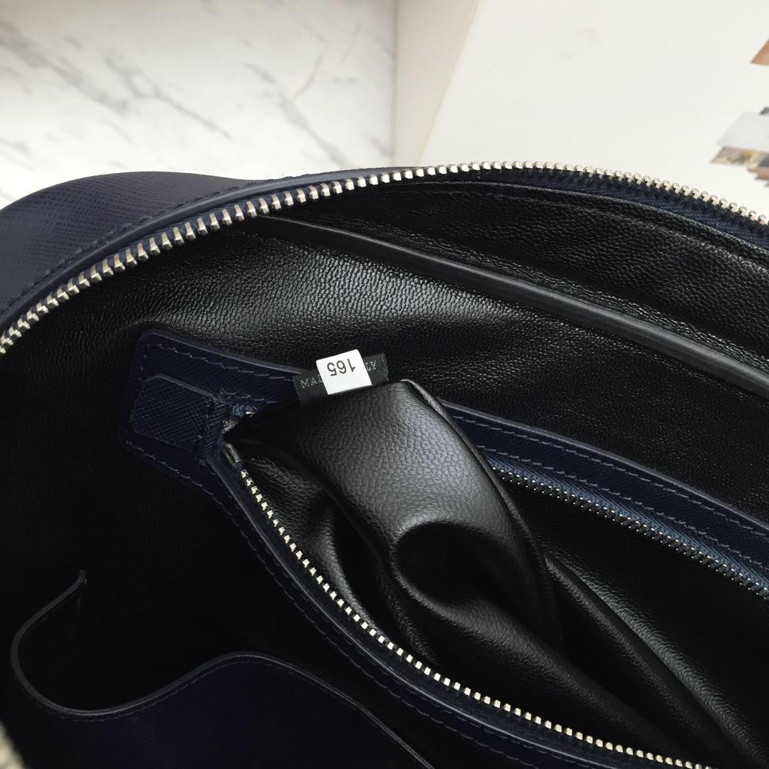 P家经典款永不过时2VE891 原厂意大利进口十字纹皮 代工码165 原厂拉链 原单品质
