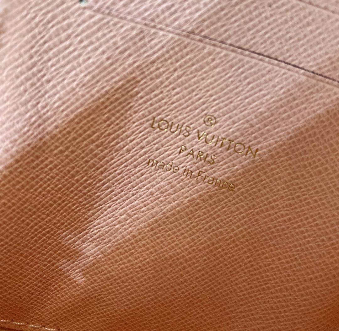 LV爆款新款44590 白棋盘格搭配粉色里布 做工精致无比