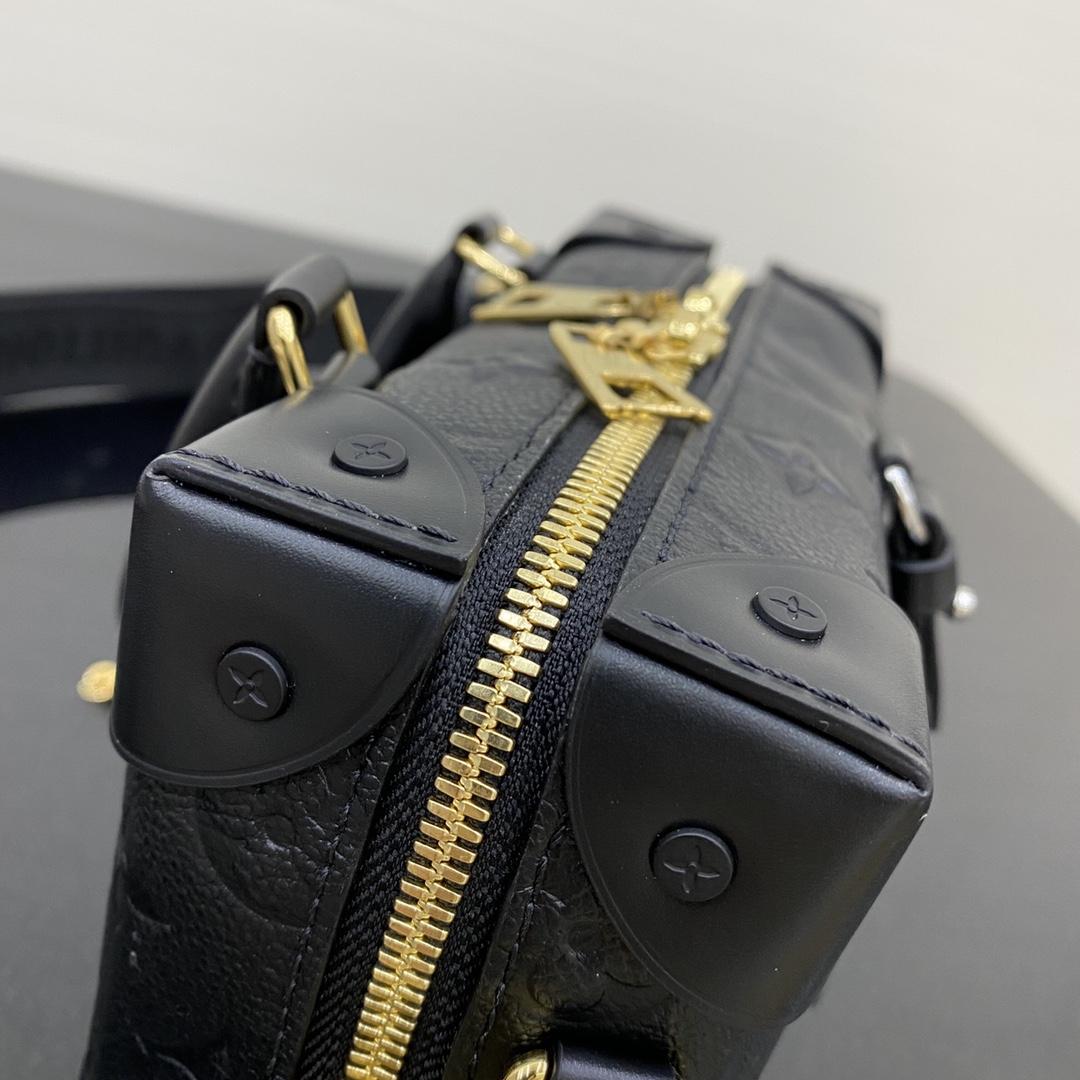 路易威登官网 早秋新款盒子包20518 进口小牛皮皮质柔软 长肩带可调节