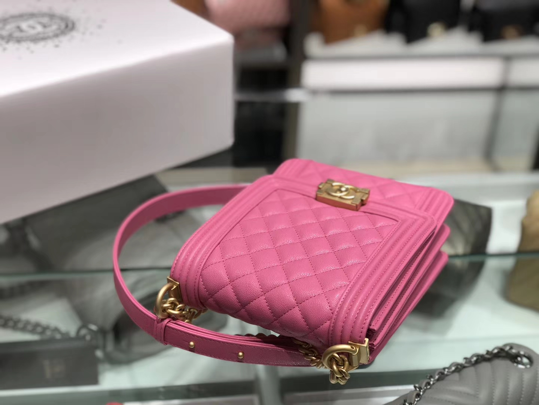 Chanel(香奈儿)竖款Leboy # 唇膏粉配搭复古五金 19.5×16×6cm