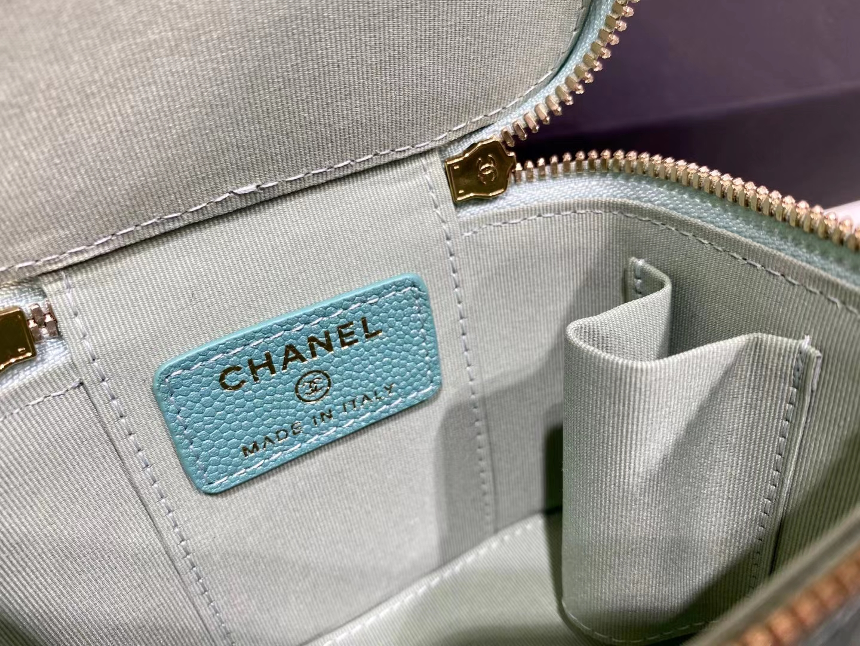 Chanel(香奈儿)2021 新款 一颗珍珠手拎包 薄荷绿 可盐可甜